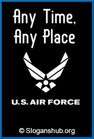 U.S. Air Force Slogans 1