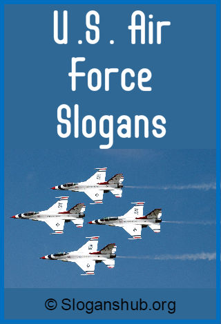 U.S. Air Force Slogans