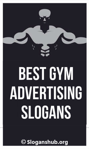 Best gym advertising slogans