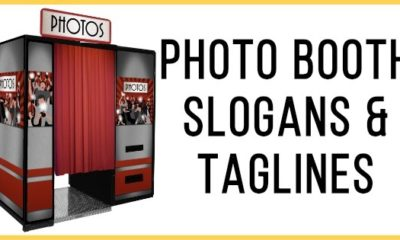 Photo Booth Slogans & Taglines