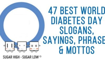 World Diabetes Day Slogans, Sayings, Phrases & Mottos