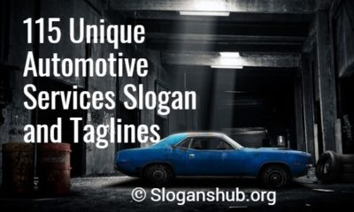 Automotive Services Slogan