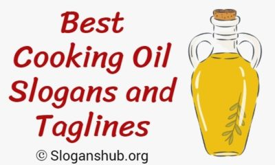 Cooking Oil Slogans